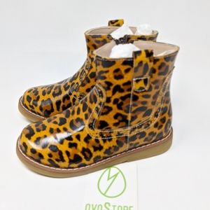 Elephantito Madison Ankle Boot patent leopard